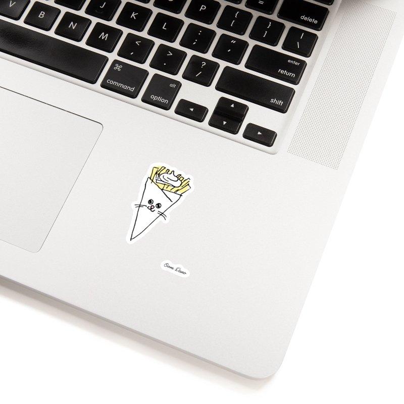 Piepie als schattepatatje Accessories Sticker by Oom Dano's Winkeltje