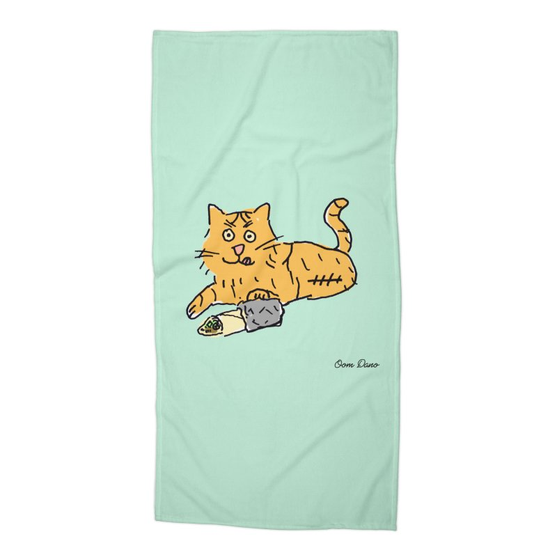 Driepoot Accessories Beach Towel by Oom Dano's Winkeltje