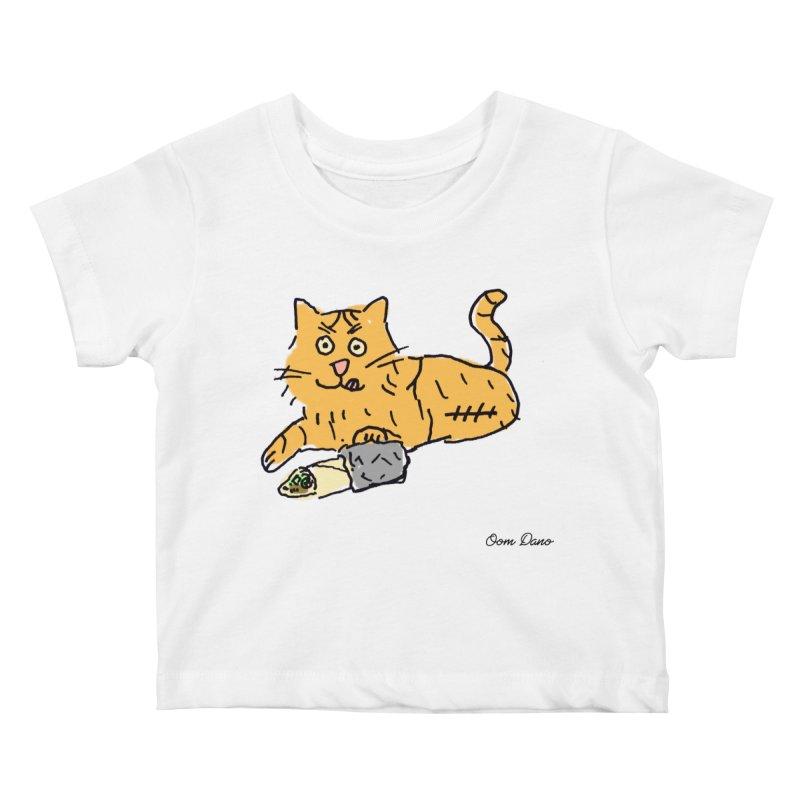 Driepoot Kids Baby T-Shirt by Oom Dano's Winkeltje