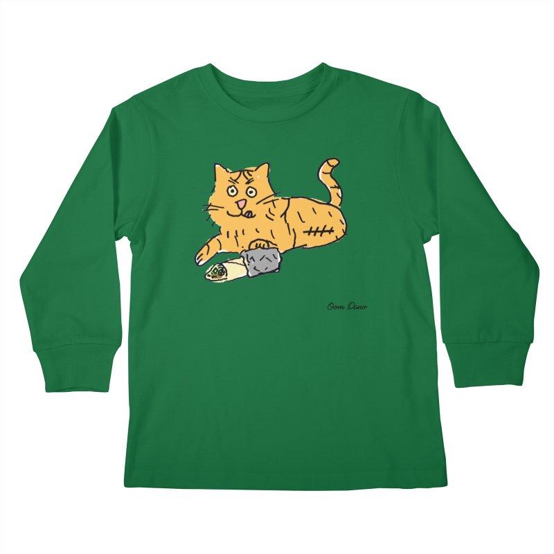 Driepoot Kids Longsleeve T-Shirt by Oom Dano's Winkeltje