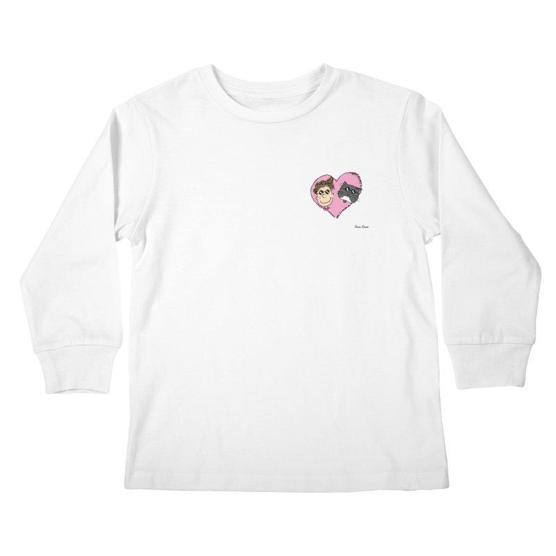 Piepie <3 Oom Dano Kids Longsleeve T-Shirt by Oom Dano's Winkeltje