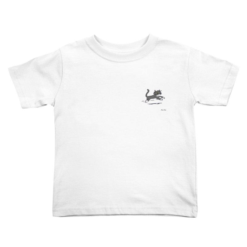Piepie rent! Kids Toddler T-Shirt by Oom Dano's Winkeltje