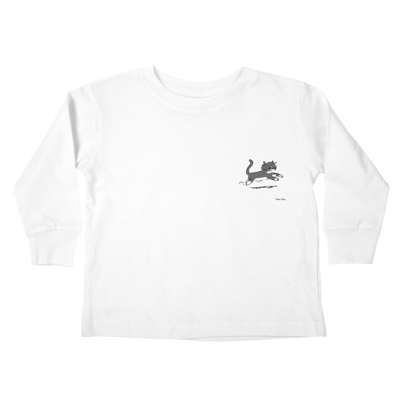 Piepie rent! Kids Toddler Longsleeve T-Shirt by Oom Dano's Winkeltje