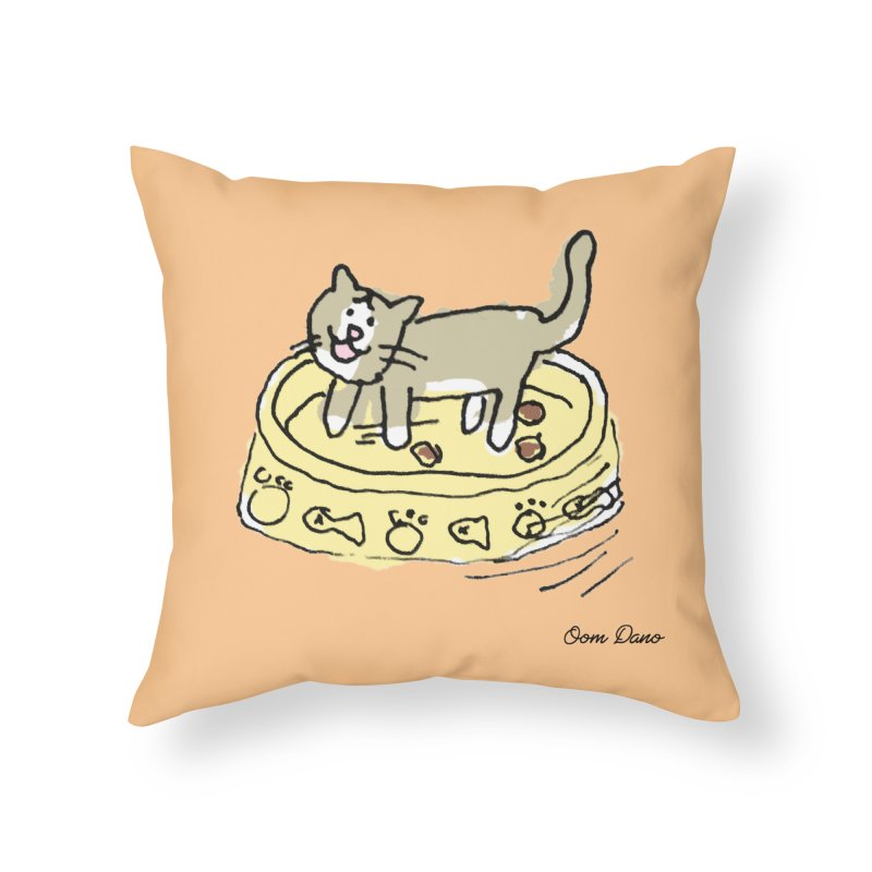 Spinner Spinner Home Throw Pillow by Oom Dano's Winkeltje