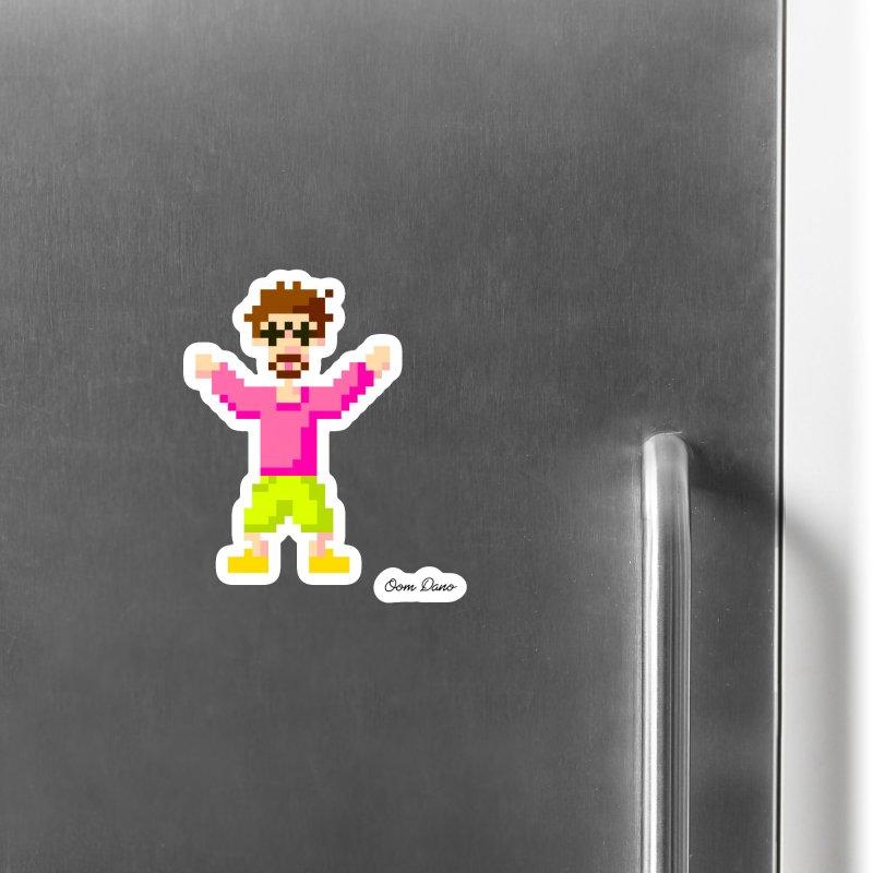 8 Bit Oom Dano Accessories Magnet by Oom Dano's Winkeltje