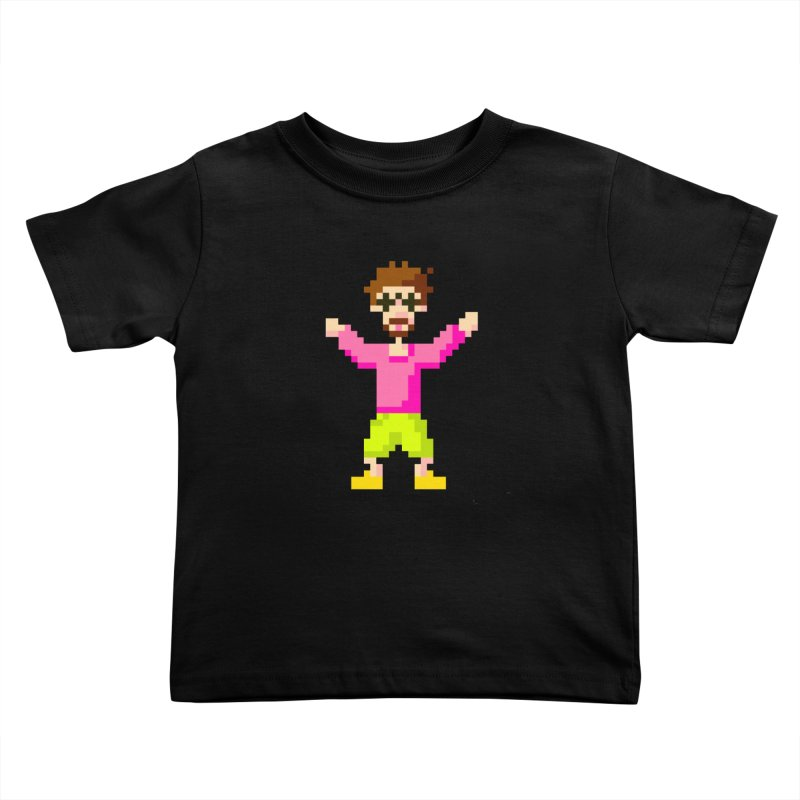 8 Bit Oom Dano Kids Toddler T-Shirt by Oom Dano's Winkeltje