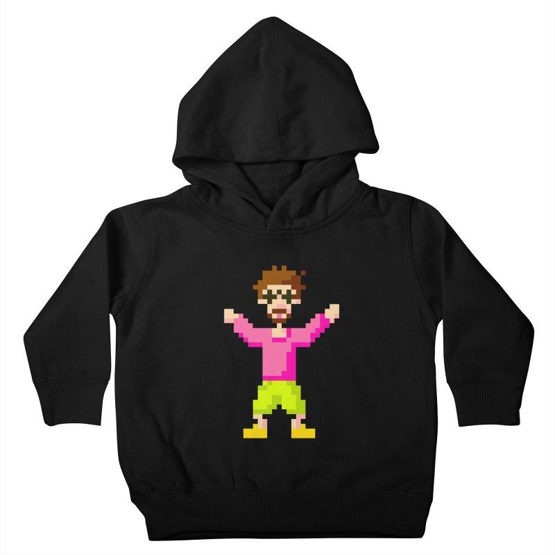 8 Bit Oom Dano Kids Toddler Pullover Hoody by Oom Dano's Winkeltje