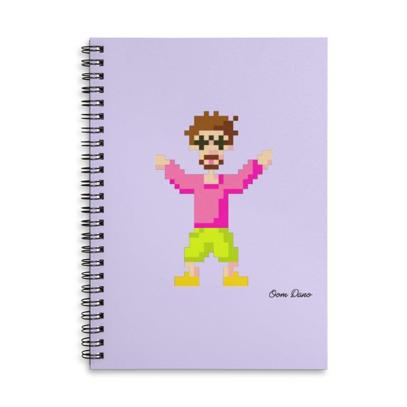 8 Bit Oom Dano Accessories Notebook by Oom Dano's Winkeltje