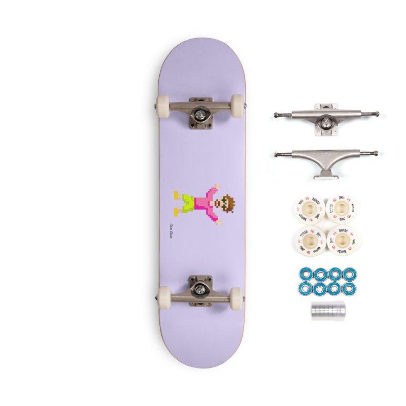 8 Bit Oom Dano Accessories Skateboard by Oom Dano's Winkeltje