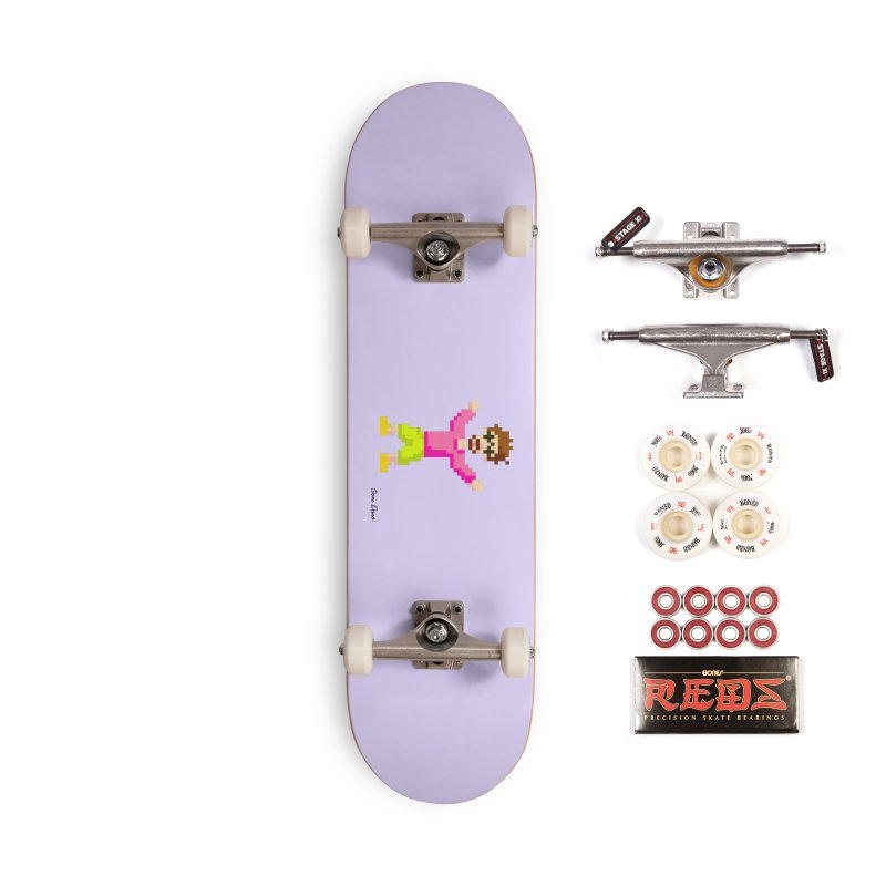 8 Bit Oom Dano Accessories Skateboard by Oom Dano's Winkeltje