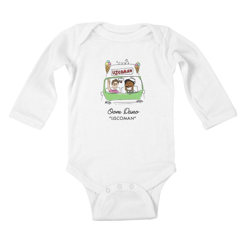 Ijscoman Kids Baby Longsleeve Bodysuit by Oom Dano's Winkeltje