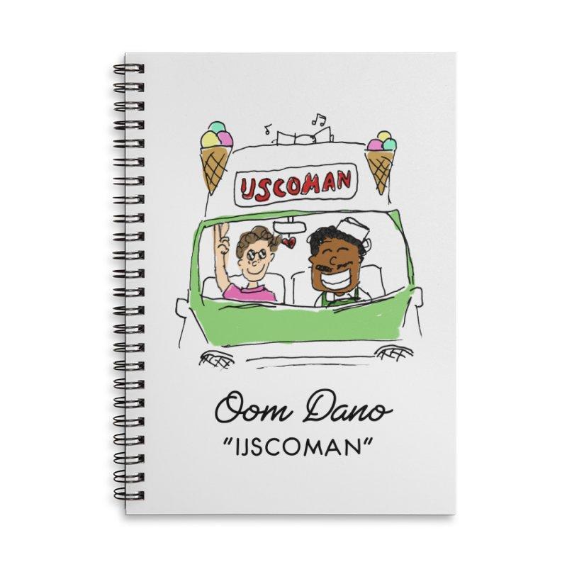 Ijscoman Accessories Notebook by Oom Dano's Winkeltje