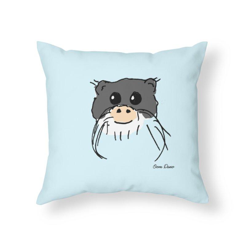 Aap Home Throw Pillow by Oom Dano's Winkeltje