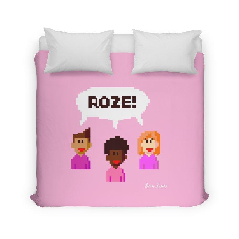 Roze! Home Duvet by Oom Dano's Winkeltje