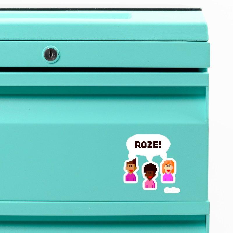 Roze! Accessories Magnet by Oom Dano's Winkeltje