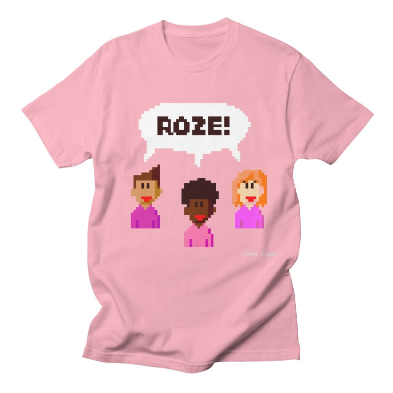 Roze! Men's T-Shirt by Oom Dano's Winkeltje