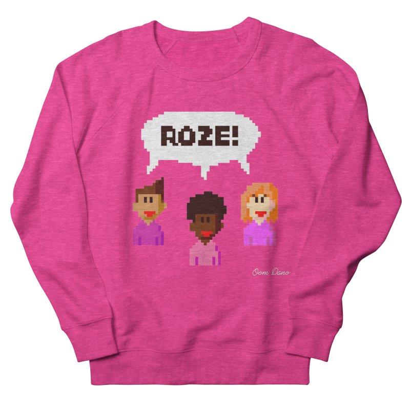 Roze! Men's Sweatshirt by Oom Dano's Winkeltje