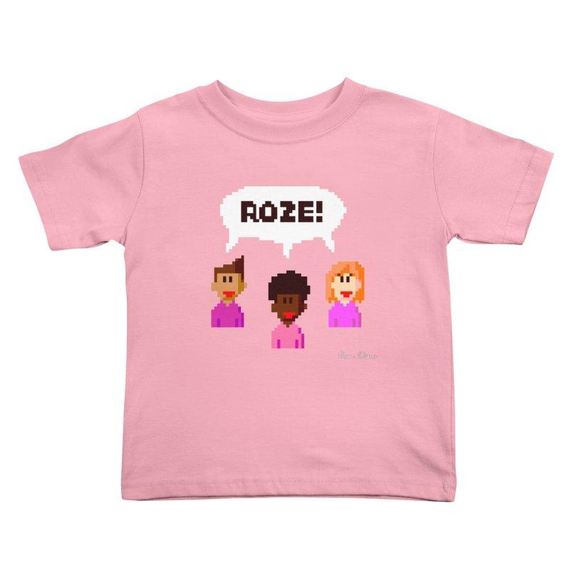 Roze! Kids Toddler T-Shirt by Oom Dano's Winkeltje
