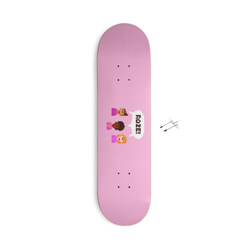 Roze! Accessories Skateboard by Oom Dano's Winkeltje