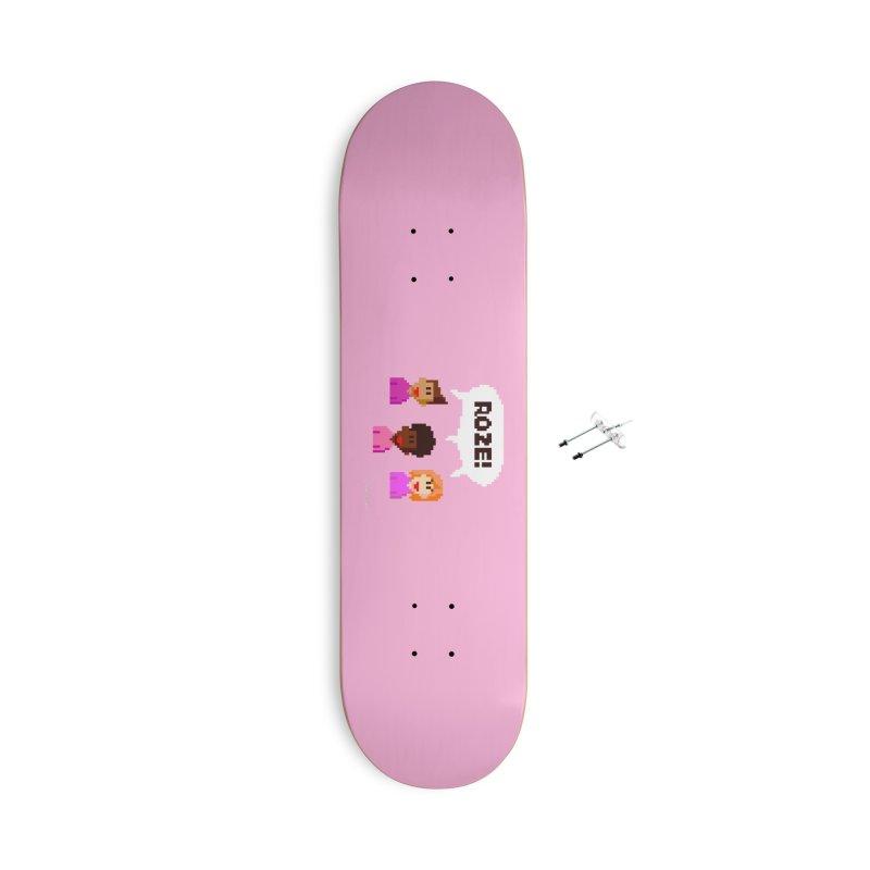 Roze! Accessories Skateboard by Oom Dano's Winkeltje