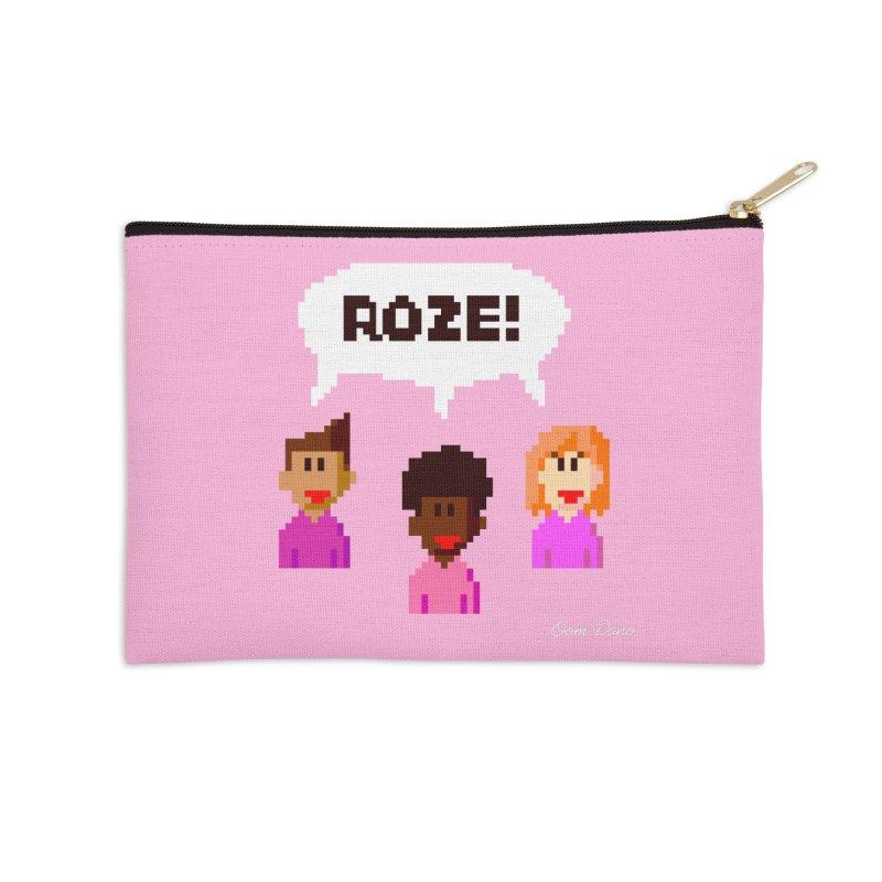 Roze! Accessories Zip Pouch by Oom Dano's Winkeltje