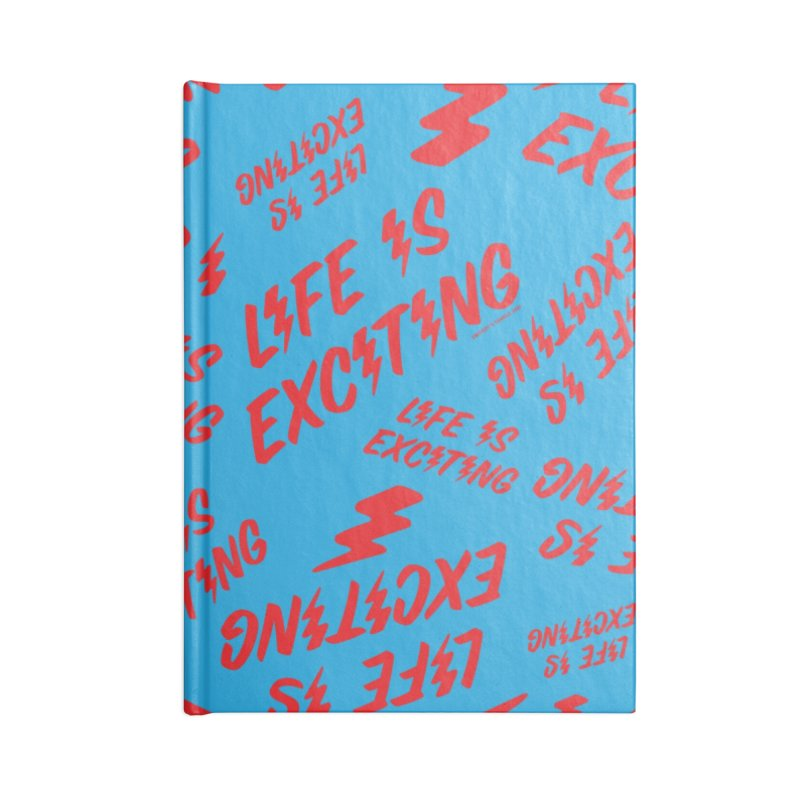 Life Is Exciting (Classic) Accessories Notebook by Oopsy's Shop