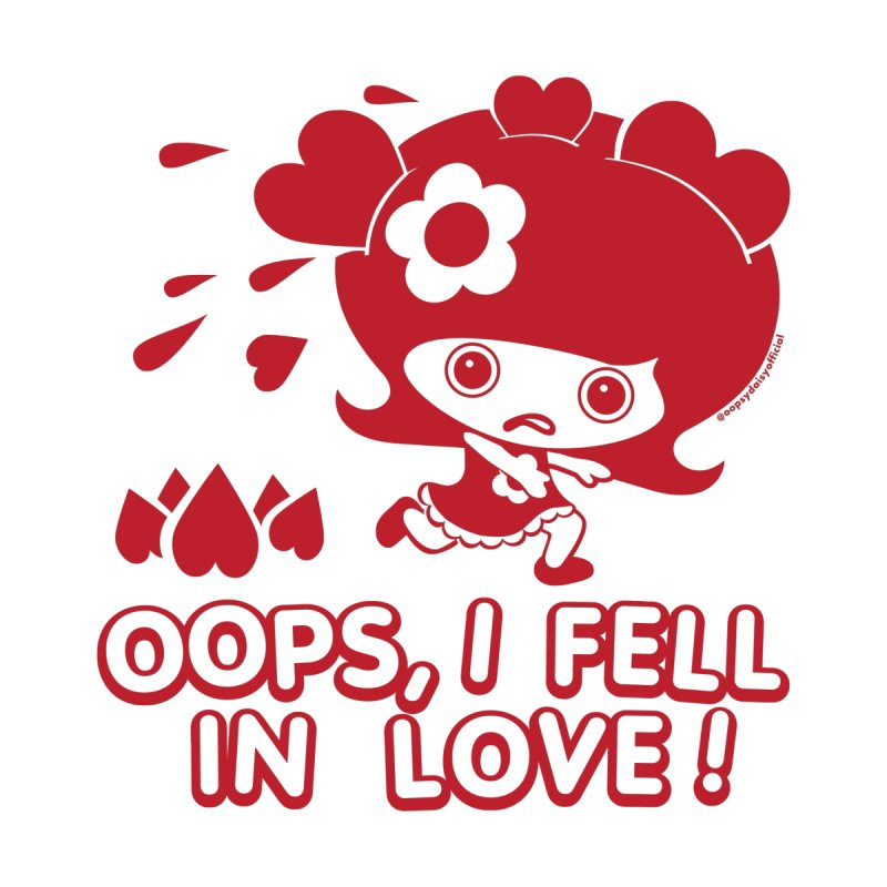 I Fell In Love (Red) in  by Oopsy Daisy