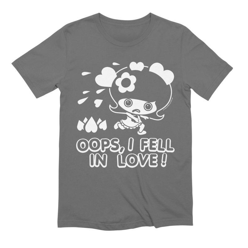 Oops, I Fell In Love Men's T-Shirt by Oopsy Daisy