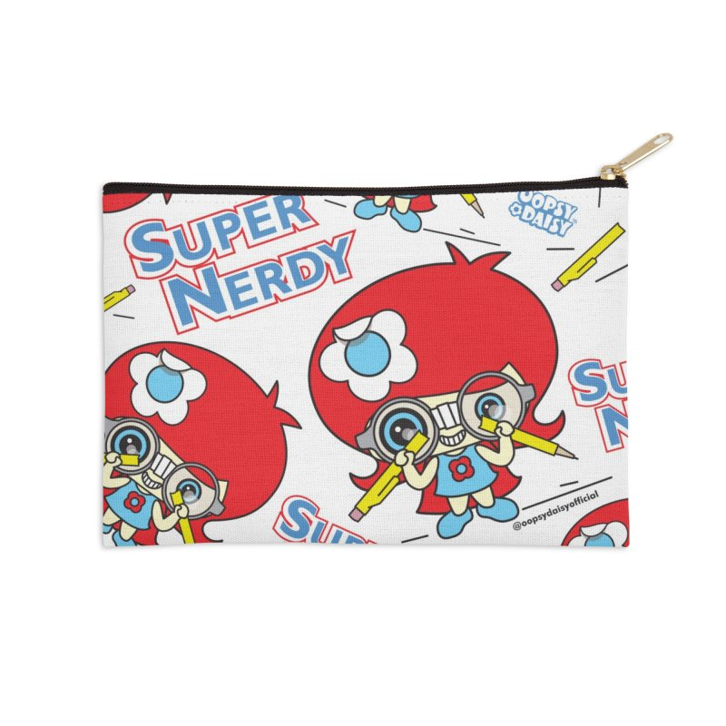 Super Nerdy Accessories Zip Pouch by Oopsy Daisy