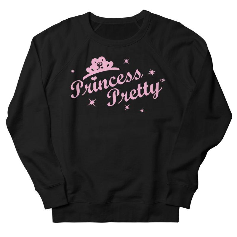 Princess Pretty Logo Men's French Terry Sweatshirt by Oopsy Daisy