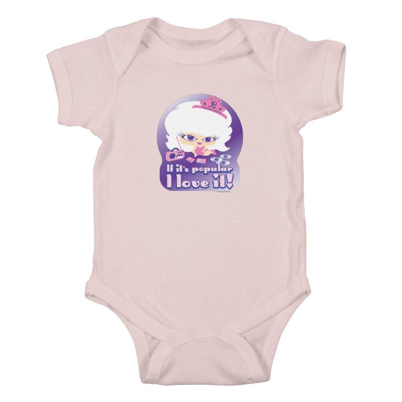 If It's Popular I Love It Kids Baby Bodysuit by Oopsy Daisy