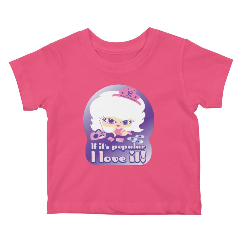If It's Popular I Love It Kids Baby T-Shirt by Oopsy Daisy