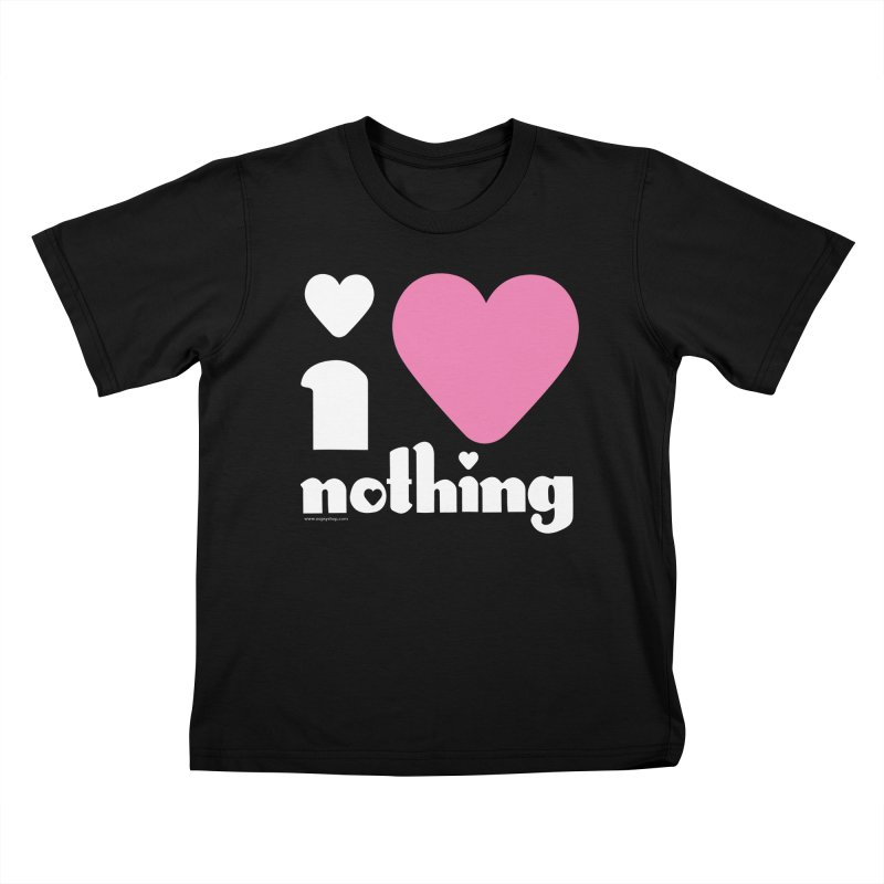 I Love Nothing Kids T-Shirt by Oopsy Daisy
