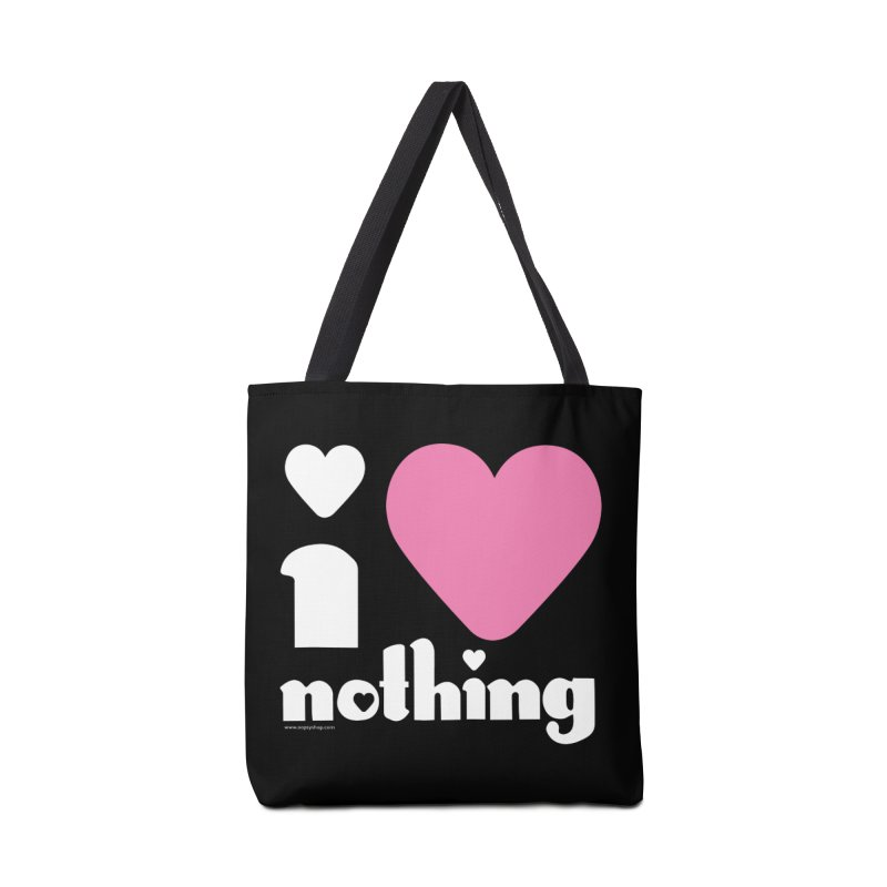 I Love Nothing Accessories Bag by Oopsy Daisy