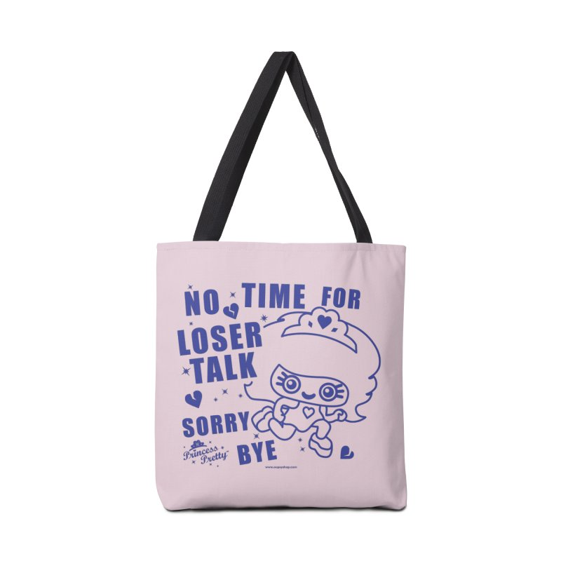 No Time For Loser Talk Accessories Bag by Oopsy Daisy