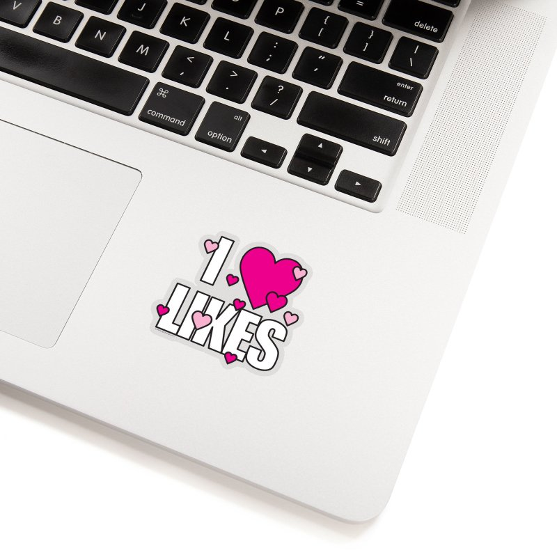 I Heart Likes Accessories Sticker by Oopsy Daisy