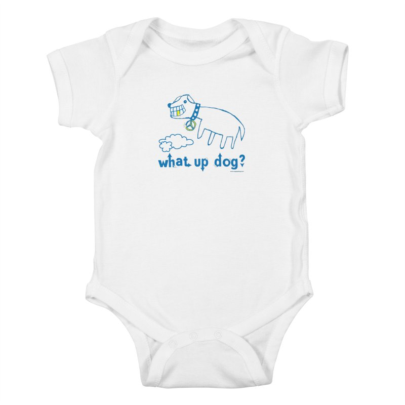 What Up Dog Kids Baby Bodysuit by Oopsy Daisy