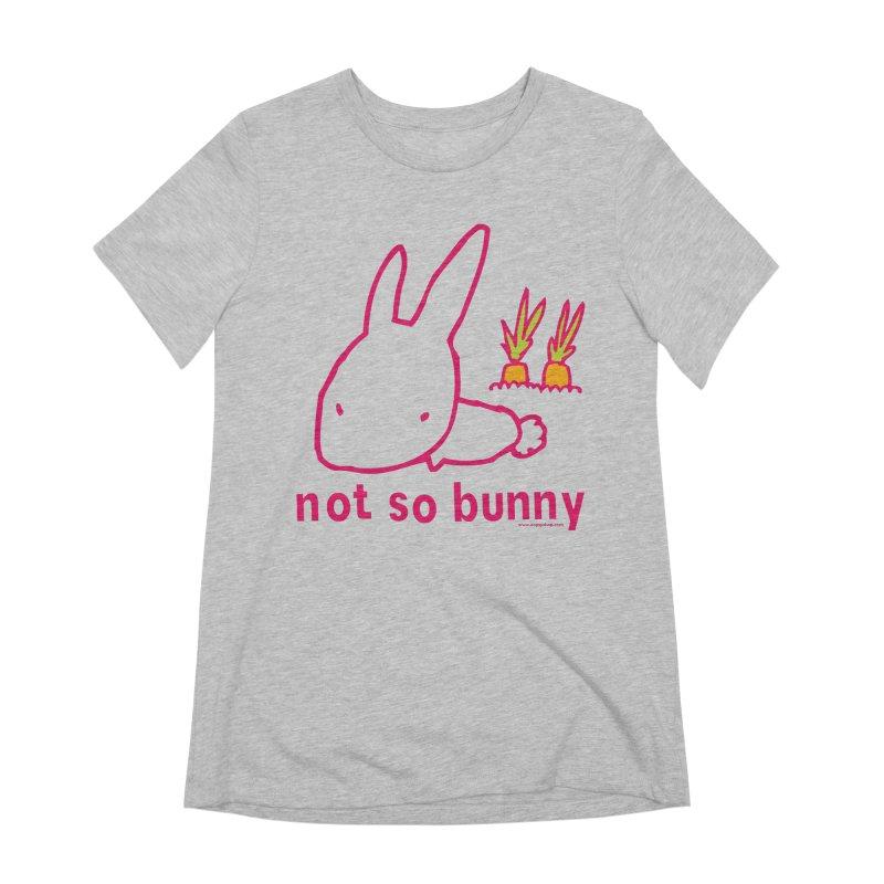 Not So Bunny Women's Extra Soft T-Shirt by Oopsy Daisy