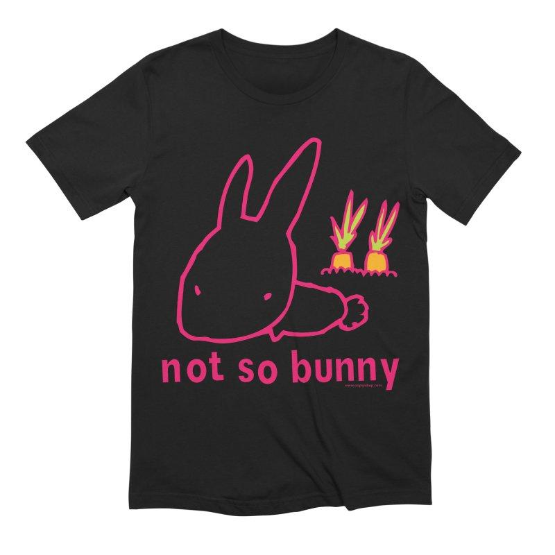 Not So Bunny Men's Extra Soft T-Shirt by Oopsy Daisy