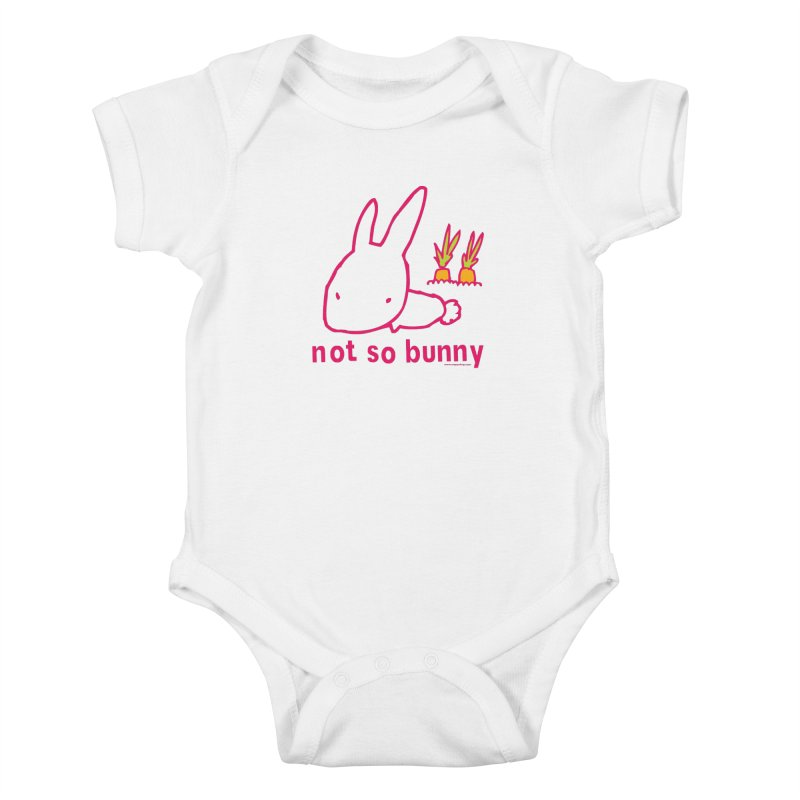 Not So Bunny Kids Baby Bodysuit by Oopsy Daisy