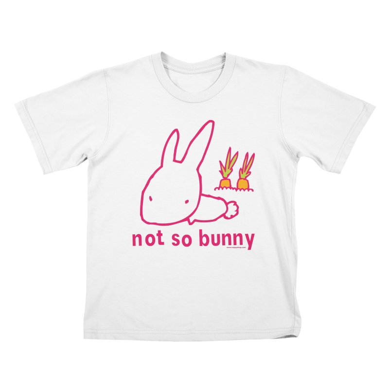 Not So Bunny Kids T-Shirt by Oopsy Daisy