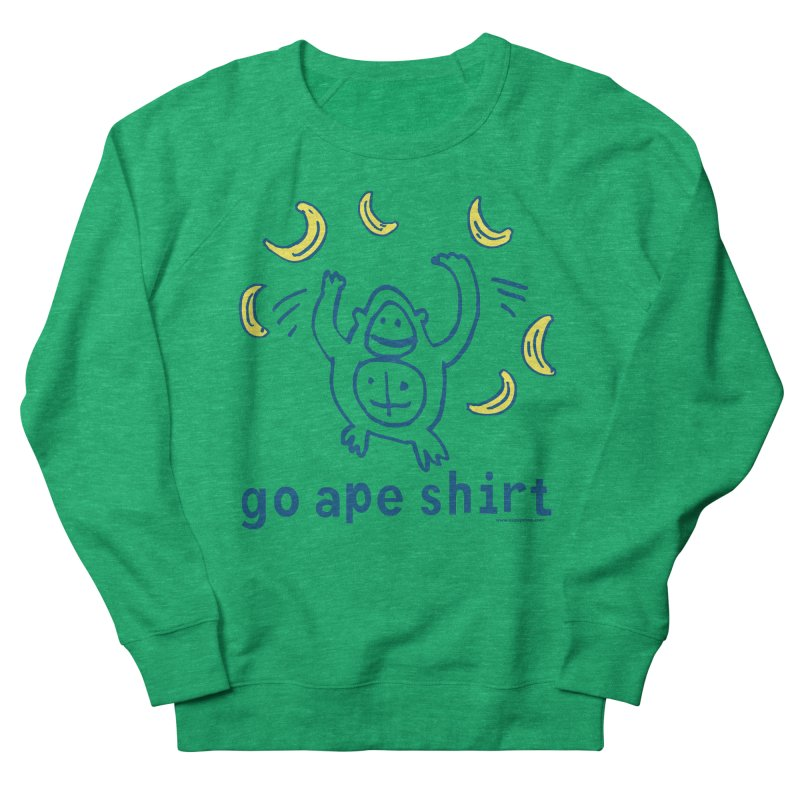 Go Ape Shirt Men's French Terry Sweatshirt by Oopsy Daisy