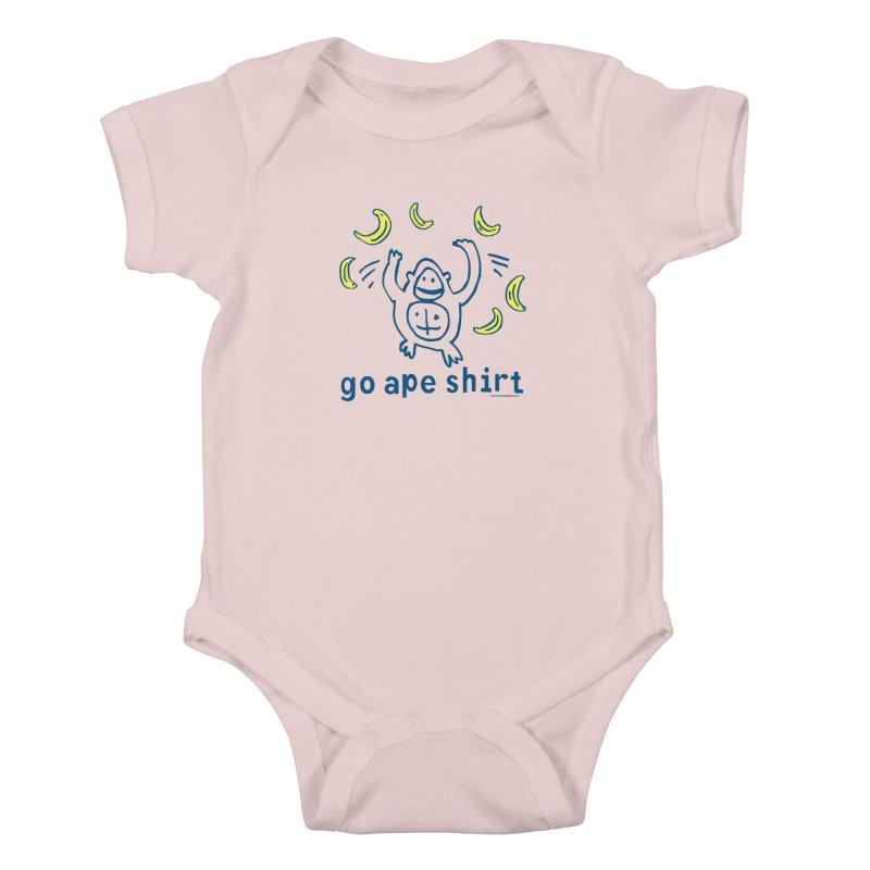 Go Ape Shirt Kids Baby Bodysuit by Oopsy Daisy