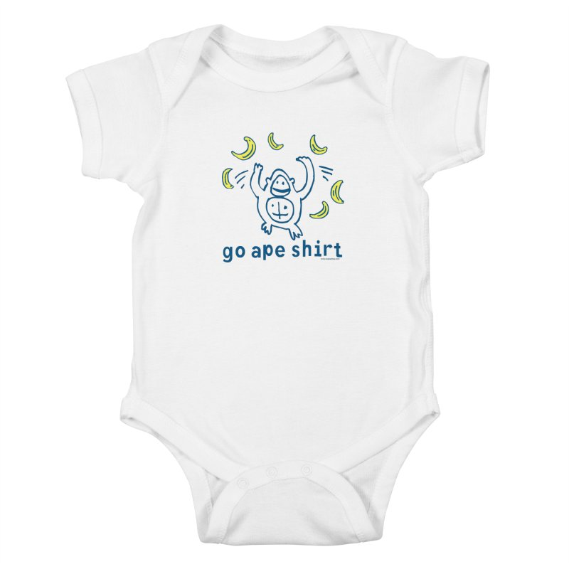 Go Ape Shirt Kids Baby Bodysuit by Oopsy Daisy