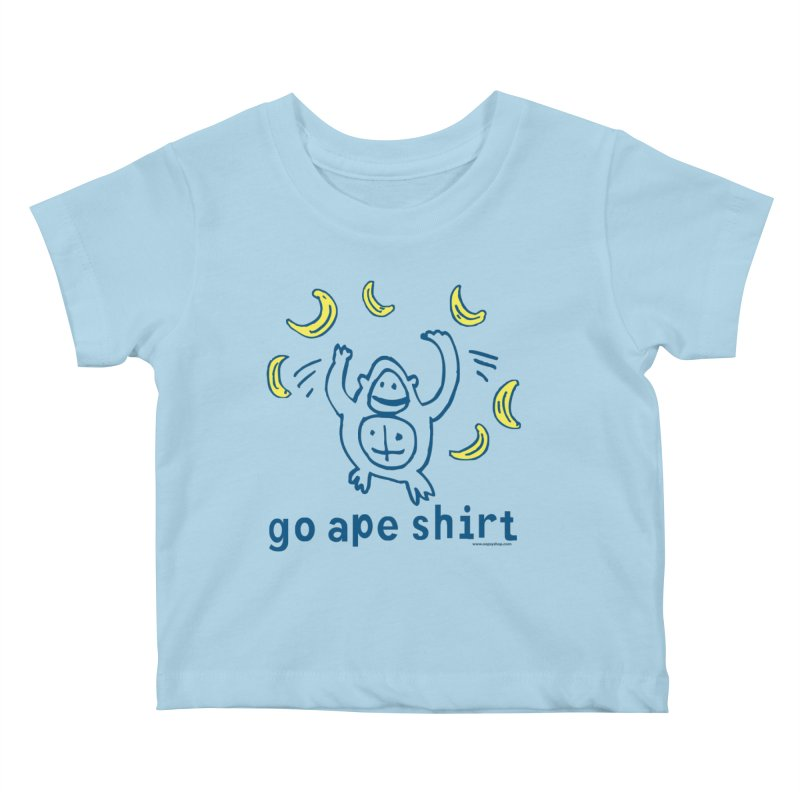 Go Ape Shirt Kids Baby T-Shirt by Oopsy Daisy