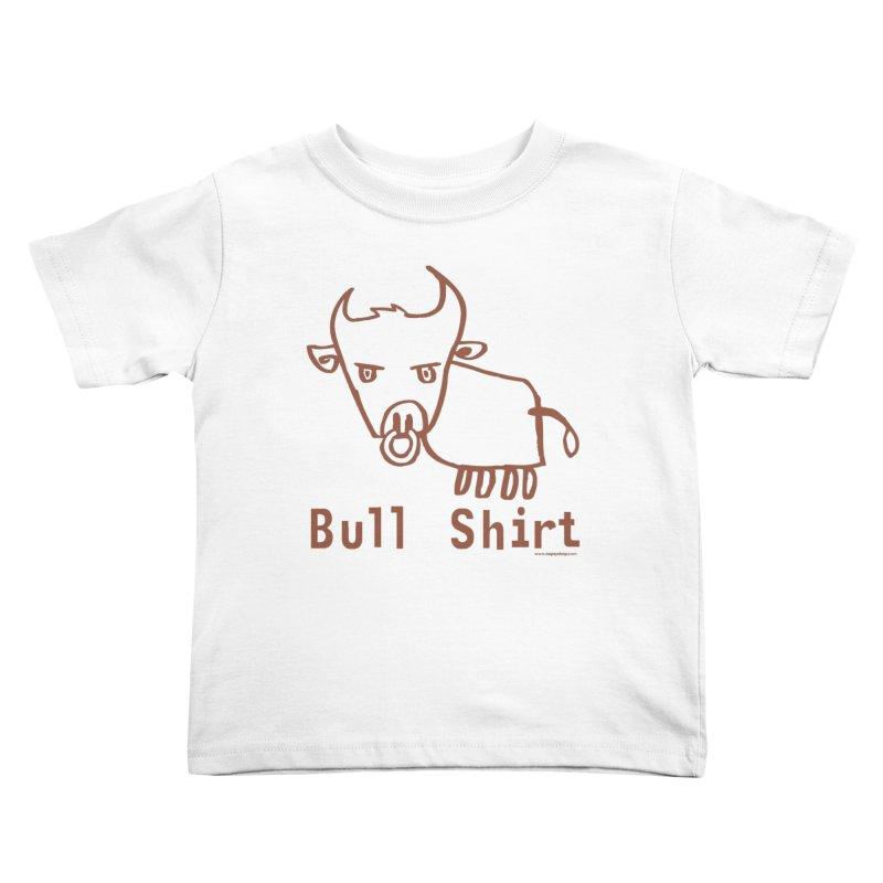 Bull Shirt Kids Toddler T-Shirt by Oopsy Daisy