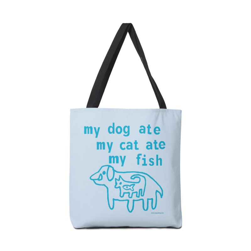 My Dog Ate My Cat Ate My Fish Accessories Bag by Oopsy Daisy