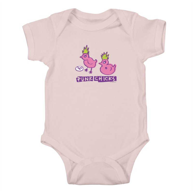 Punk Chicks Kids Baby Bodysuit by Oopsy Daisy