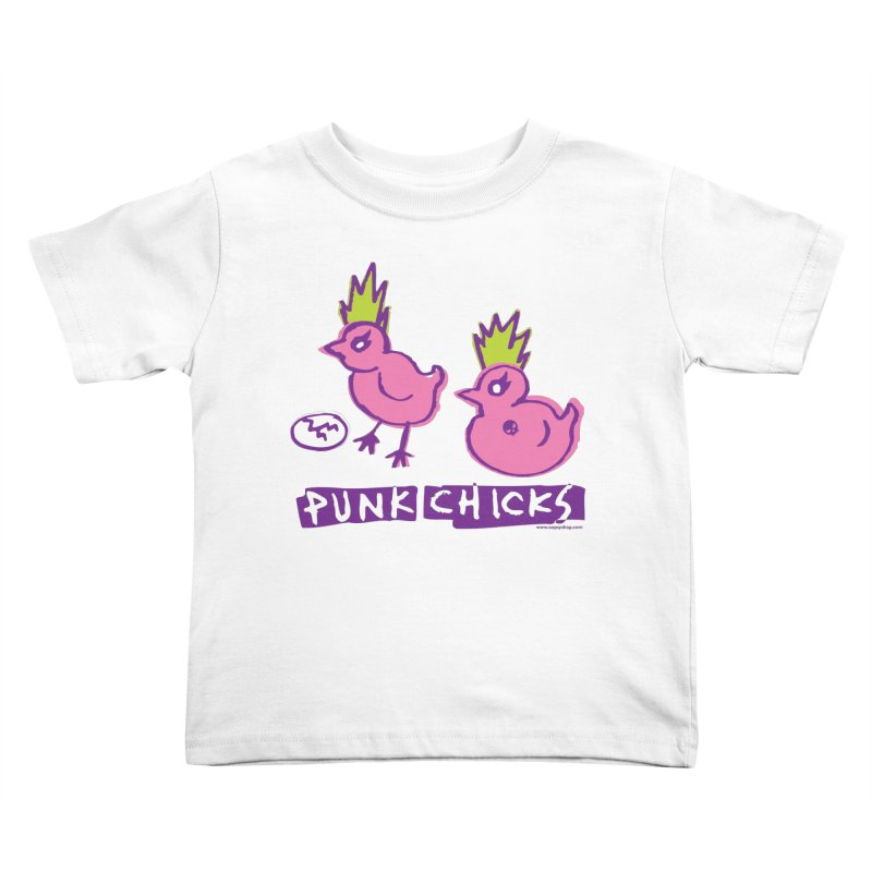 Punk Chicks Kids Toddler T-Shirt by Oopsy Daisy