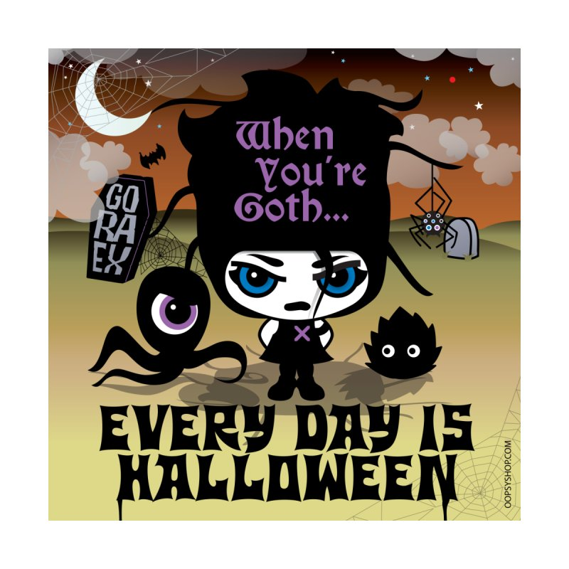 Every Day Is Halloween (Sticker) Accessories Sticker by Oopsy Daisy